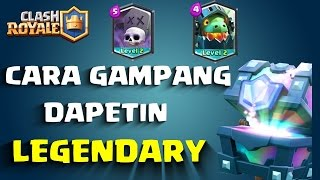 download lagu Cara Mudah Dapetin Legendary  Clash Royale  Indonesia gratis