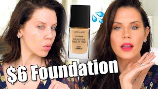 New $6 DRUGSTORE FOUNDATION ... Worth The Hype?