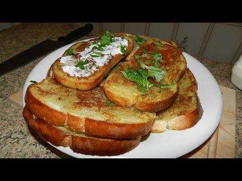 Что приготовить когда в холодильнике пусто, Горячие Бутерброды с Картошкой!