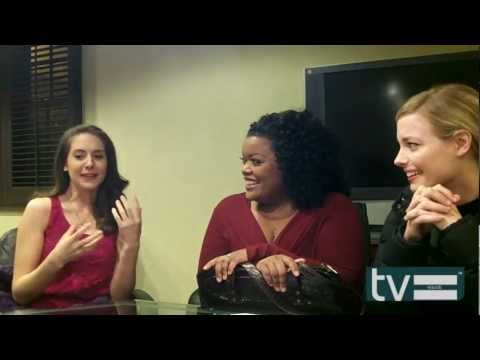 Community Season 4: Gillian Jacobs, Alison Brie & Yvette Nicole Brown [Interview]