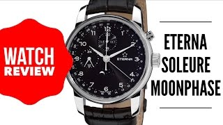 Eterna Soleure Moonphase Chronograph Men