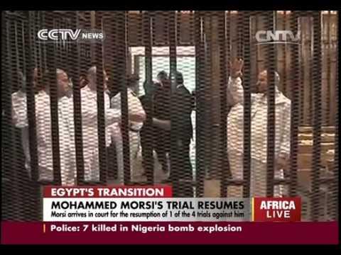 Mohammed Morsi´s trial resumes