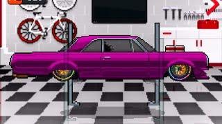 Pixel Car Racer LOWRIDER UPDATE!! 2300 '64 Impala + 100 Crates Unboxing| SLAPTrain