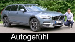 Volvo V90 Cross Country FULL REVIEW Test Pro CC 2018 - Autogefühl