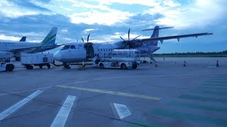 Cambodia Angkor Air ATR72-500 Siem Reap to Phnom Penh