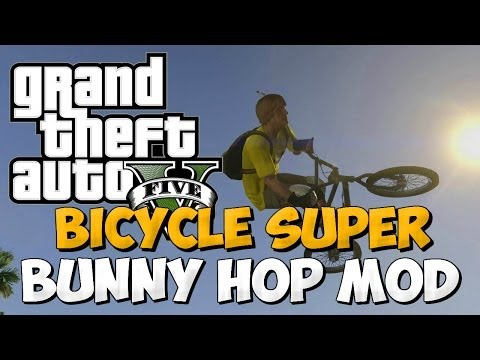GTA 5 ONLINE : Super Bunny Hop Launch Mod / Super Bike Launch Mod (GTA V MODS)