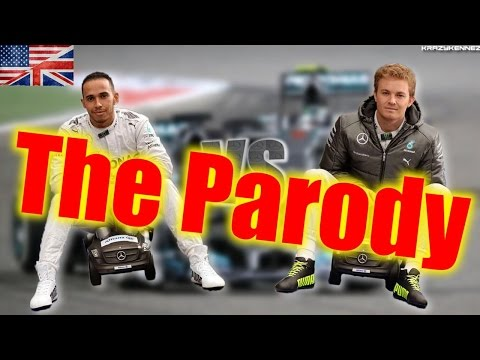 F1 2014 | Hamilton vs Rosberg [PARODY] - English/HD