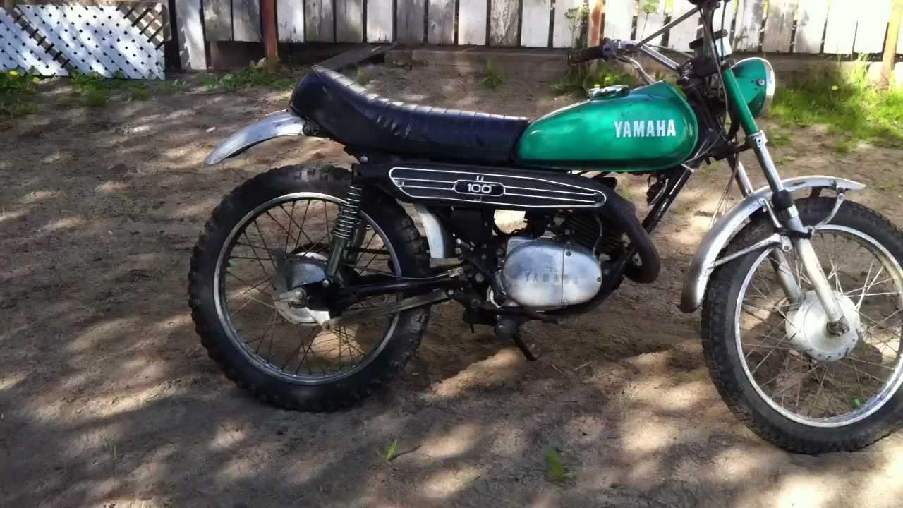 Yamaha lt 2 1972 100cc 2 temps 5 vitesses manuel youtube for 100cc yamaha dirt bike