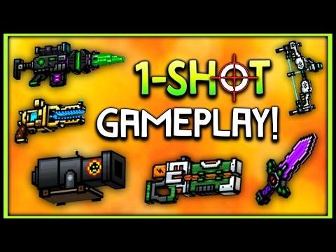 Pixel Gun 3D - 1-Shot Kill Weapon Gameplay!