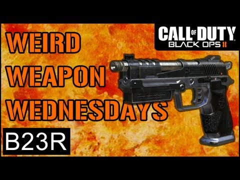 Black Ops 2 B23R Gameplay - Weird Weapon Wednesdays Ep.7