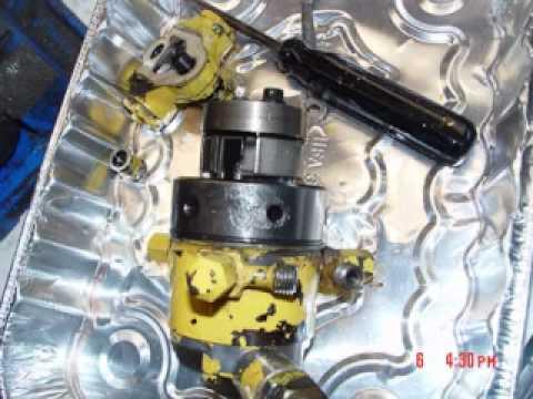 Rebuild a Lucas DPA Fuel Injection Pump