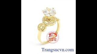 Nhẫn nữ kim tiền đẹp, Nhẫn nữ kim tiền đẹp, TSVN018879