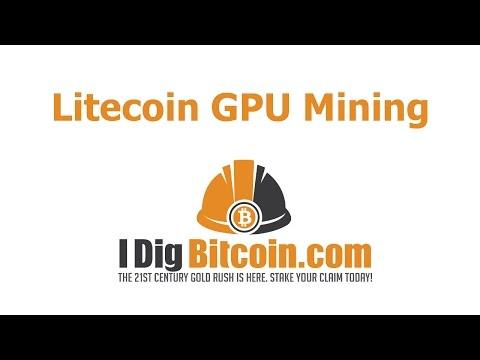 Litecoin GPU Mining - No ASIC Miner? No Problem. Your Gaming GPU May Work Just Fine!