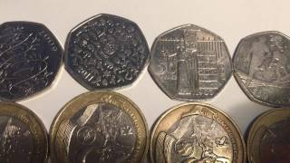 *RAREST* Coins in Circulation - FT. Kew Gardens, Edinburgh, Undated 20p and more - UkCoinHUNT