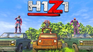 H1Z1 - WINNING MY FIRST 5 MAN GAME!!!  (H1Z1 Gameplay)