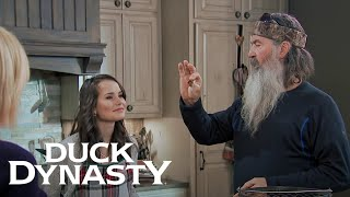 Duck Dynasty: Marriage Advice for Mary Kate (Season 8, Episode 1) | A&E