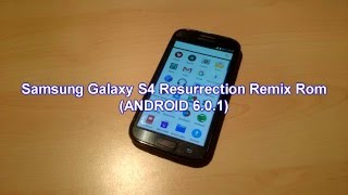 Samsung Galaxy S4 i9515 - Resurrection Remix ROM v5.6.4 (ANDROID 6.0.1)!