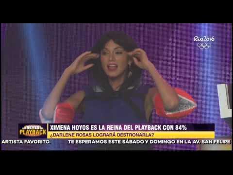 Darlene Rosas y el playback de