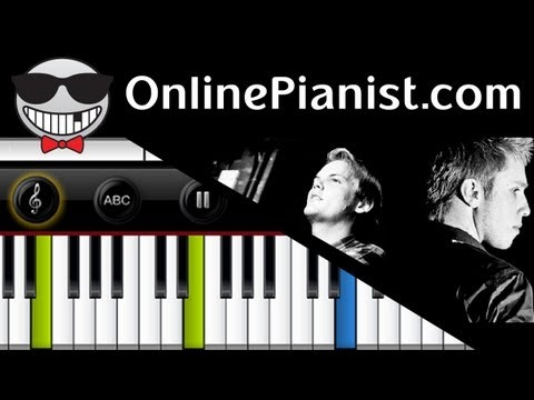 Avicii ft. Nicky Romero - I Could Be The One (Nicktim/Stranger) - Piano Tutorial
