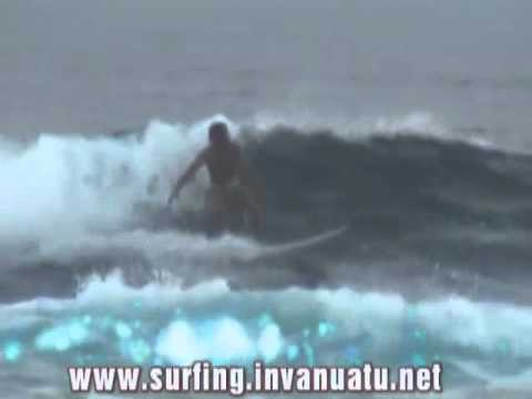 Surfing Vanuatu - PANGO