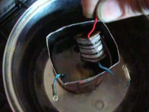 В домашних условиях пропитать трансформатор