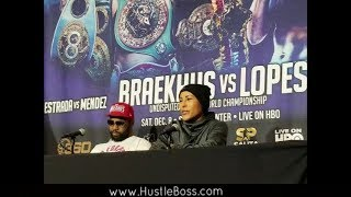 Cecilia Braekhus defeats Aleksandra Magdziak Lopes on HBO [Post-Fight Presser Highlights]