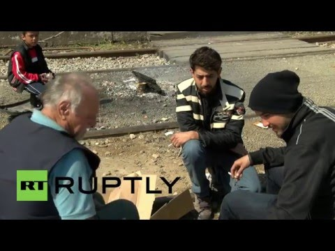 Greece: Iraqi refugee who risked his life for U.S army left stranded in Idomeni