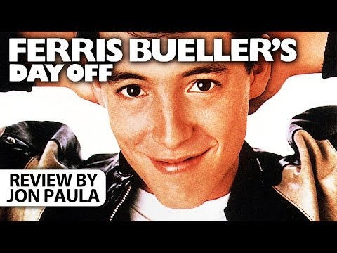 Ferris Bueller's Day Off -- Movie Review #JPMN