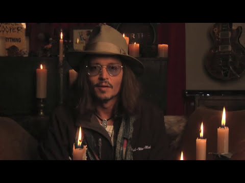 Johnny Depp - Welcome to the 30th Anuual Gathering of Nations Pow Wow