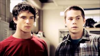 Scott and Stiles - Mirrors