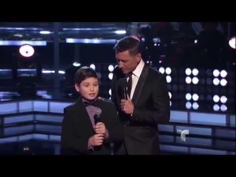 """Sean Oliu canta """"No me doy por vencido"""" en """"La Voz Kids"""""""