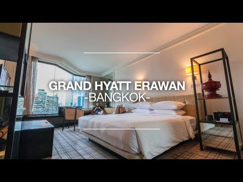 Grand Hyatt Erawan Bangkok Room Review #1401 - Deluxe King