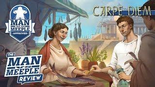 Carpe Diem Review by Man Vs Meeple (Alea)