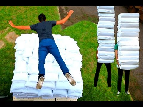 2 Guys 600 Pillows (Backwards) - Rhett & Link Music Videos