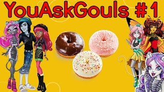 "Monster High [Stop Motion] ""YouAskGouis"" #1 /Отвечаем на вопросы/"