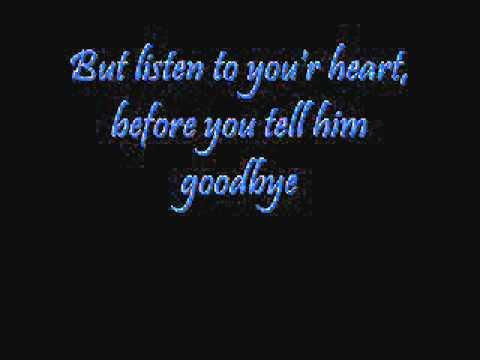 Roxette - Listen to your heart (lyrics)