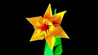 How To Make An Origami Daffodil