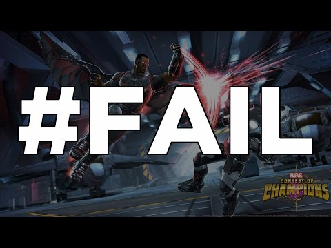 #FAIL - The Epic Alliance War Hashtag Fail - Marvel Contest of Champions