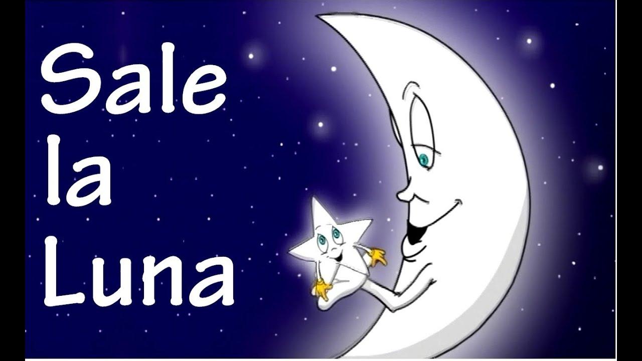 Sale la luna youtube - Dibujos de lunas infantiles ...