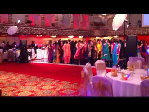 Punjabi Wedding Reception - Aman Pabla On The 1 & 2's video