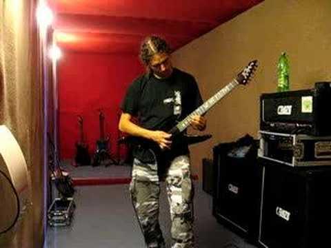 Markus Lempsch - BC Rich Stealth Chuck Schuldiner tribute