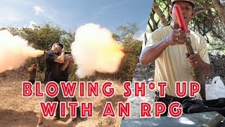 BLOWING UP STUFF WITH AN RPG | Donnie Does Cambodia