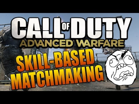 Skill based matchmaking advanced warfare removed