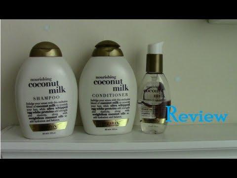 Organix Coconut Milk Shampoo, Conditioner , & Serum Review | 2013