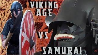 Deadliest Warriors: Viking Age Vs Samurai Armor Ragnar to William