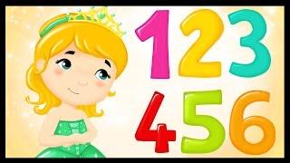 La chanson des chiffres - Apprendre les chiffres avec les princesses