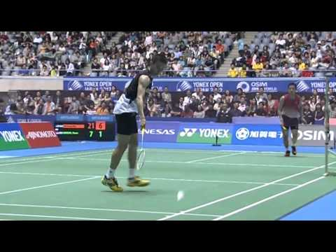 SF - MS - Lee Chong Wei vs Simon Santoso - 2012 Yonex Open Japan