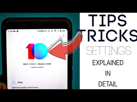 tips and  tricks for #miui and miui 10 and new features🔥🔥