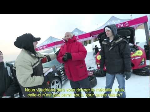 Sports motoriss au Canada - Scion FR-S Tuner Challenge - preuve de course sur glace