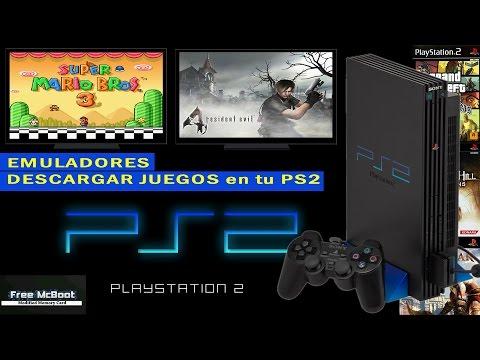 PLAYSTATION 2   Free McBoot   Instalar juegos y emuladores en tu PS2